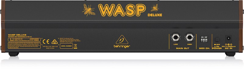 Behringer Wasp Back Panel