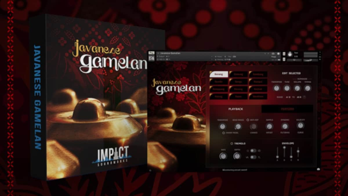 Javanese Gamelan: OUT NOW with Intro Pricing